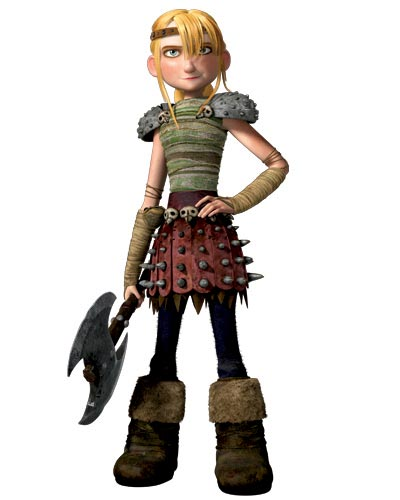 How to train your dragon clickthecity lootbox america ferrera as astrid who has been training for initiation all her life she is fit strong and is saddled with the smallest loser of a partner hiccup ccuart Choice Image