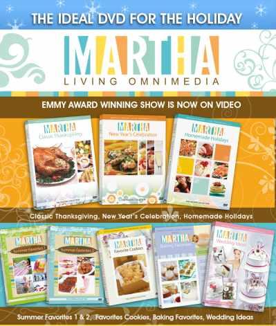 Martha Stewart Living DVD Collection