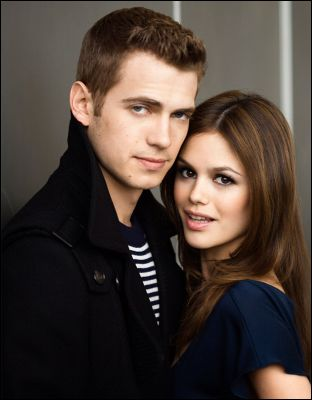 hayden christensen and rachel bilson kissing. Hayden Christensen found an