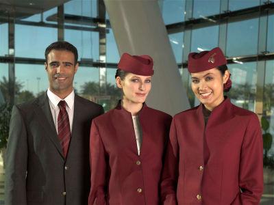 Gallery Qatar Airways Cabin Crew Uniform