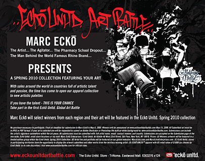 Ecko Unltd Art Battle