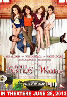 Four Sisters And A Wedding Is Really Two Movies In One The First Movie This Somewhat Sober Depiction Of Relationship Between Drawing Drama