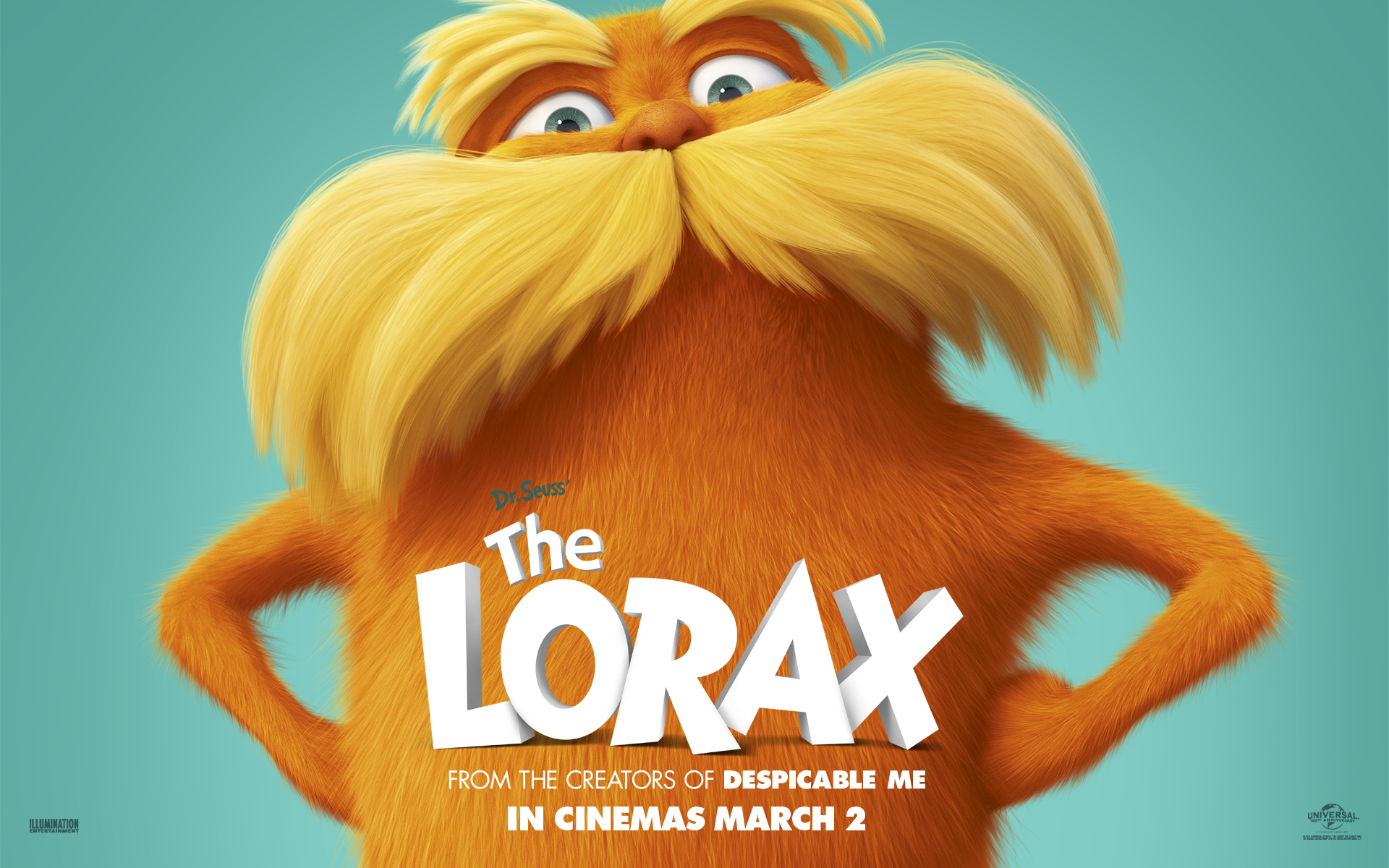 Lorax Mustache Party City
